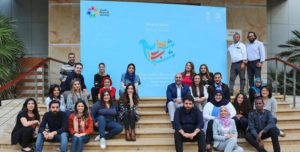 Shughel Shabab members in Beirut